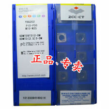 ZCC.CT SDMT09T312-DM YBG202 SDMT32.53-DM YBG202 carbide inserts 10pcs