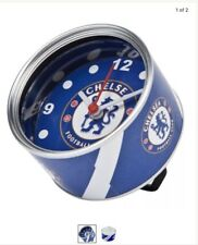 Authentic Chelsea FC - Tin Can Clock - NEW