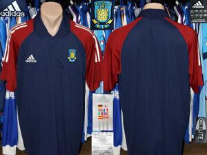 1/4 Zip Polo Style Shirt Brondby IF Adidas Denmark Training Leisure