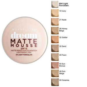 MAYBELLINE DREAM MATTE  MOUSE  FOUNDATION 18  ML