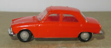G old made in france 1966 micro norev oh 1/87 peugeot 204 orange #532