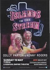 ISLANDS IN THE STREAM - KENNY ROGERS & DOLLY PARTON TRIBUTE 2019 PROMO FLYER!!