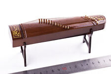 1/6 Figure Scene Accessories GuZheng Ancient Musical Instruments Model Toy