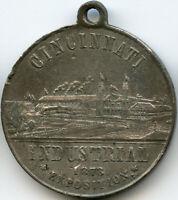 1873 Cincinnati, Ohio Industrial Exposition Fourth Grand Exposition Medal Token