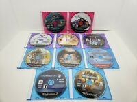Lot Of (10) - PS2 Games Socom2,Sonic Collection,GoldenEye,Gran Turismo, GTA.....