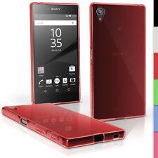 Carcasas transparente de color principal rojo para teléfonos móviles y PDAs