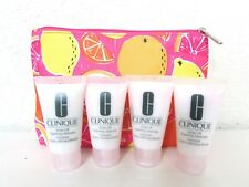 4 X CLINIQUE RINSE-OFF FOAMING CLEANSER MOUSSE TOTAL 4 OZ / 120 ML