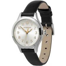 Victorinox Swiss Army Women's Watch Alliance XS Silver Dial Black Strap 241838