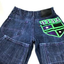Eight 732 8732 Size 36 x 34 Jeans Embroidered Hip Hop Urban Baggy Loose