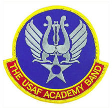 Vanguard AIR FORCE PATCH: AIR FORCE ACADEMY BAND - COLOR