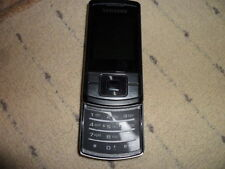 Samsung Stratus GT-C3050 - Midnight Black (Orange) Mobile Phone