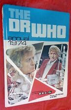 Third DOCTOR WHO 1974 Annual Jon Pertwee 3rd SPINE DAMAGE LOOSE SECTION UNCLIP