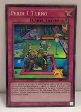 Game Yu Gi Oh XYZ ITALIANO PERDI 1 UN TURNO AP08-IT013 Super Rara - Lose 1 Turn