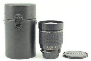 Rare[Near Mint in Case] SMC PENTAX-A Green Star 135mm 1.8 for K Mount From Japan