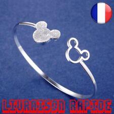 Bracelet Mickey Forme Charme Femme Mode Bijoux Cadeaux Disney Bonne Qualité Mode