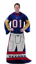 Houston Texans NFL Full Player Comfy Snuggie Blanket