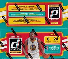 2017-18 Donruss Basketball sealed retail box 24 packs of 8 NBA cards 1 hit