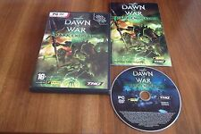 WARHAMMER 40,000 DAWN OF WAR DARK CRUSADE PC DVD-ROM V.G.C. ( standalone game )