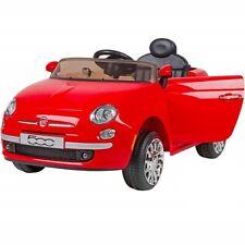 Globo Auto elettrica per Bambini FIAT 500 12 Volt con Radiocomando genitori colo