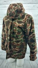 Vintage Trophy Club Camo Insulated Hunting Jacket with removable Linner Large