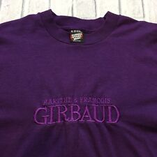 80s 90s VTG MARITHE FRANCOIS GIRBAUD Screen Stars SPELLOUT XL Hip Hop T Shirt OG