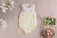 OC Baby Organic Cotton Baby Clothing Bodysuit Unisex Clothes-Yelow