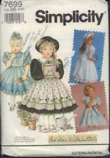 "S 7359 Daisy Kingdom Dress /& Vest Girl/&18"" Doll Pattern 3-6 New,7-12 New,8-10Com"
