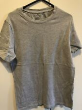 Boohoo Slim Fit Small Tshirt Plain Grey