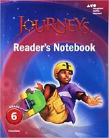 Grade 6 Journeys Readers Notebook Student Edition 2017 6th