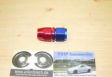 AN6 Alu Fitting Gerade ***NEU*** Dash 6 Schraub Anschluss Verbinder 18UNF  9/16