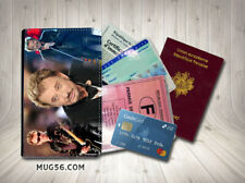 Porte cartes passeport permis - johnny hallyday 101