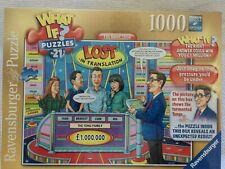 Jigsaw Puzzle 1000 Pieza Nueva Marca Ravensburger-qué pasaría si el show de Juego