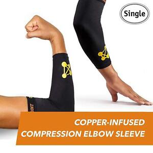 CopperJoint Copper-Infused Compression Elbow Sleeve, High-Performance Design  XL