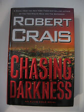CHASING DARKNESS BY ROBERT CRAIS - AUTOGRAPHED 1ST EDITION HARDCOVER BOOK