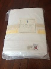 Pottery Barn Kids RIC RAC Sheet Set NWT FULL - Yellow more available