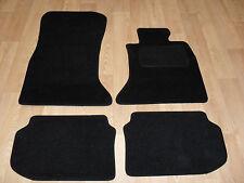BMW 5 Series F10 (2010-2013) Fully Tailored Premium Car Mats in Black