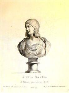 Zanetti's Greek Statues -1743- EMPRESS JULIA MAMAEA