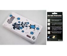 Screen Protector + Turtle Case for LG Splendor Venice US730 LG730 AS730 LS730