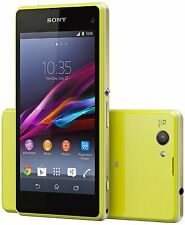 Sony Ericsson Xperia Z1 Compact D5503 16GB 20.7MP Unlocked Smart Phone (Yellow)