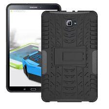 Hybrid Outdoor Schutzhülle Schwarz für Samsung Galaxy Tab A 10.1 T580 T585 Hülle