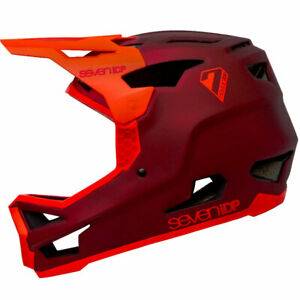 7 Protection 7iDP Project 23 GF Full Face Mountain Bike Helmet Thruster Red