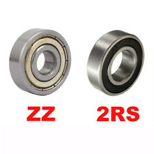 Deep Groove Ball Bearing 6000 6200 6300 2RS ZZ Various Size 6000~6305 Series New