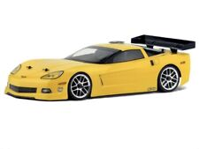 GENUINE HPI #17503 C6 Corvette CLEAR Body RARE for 1:10 scale RC car 200mm