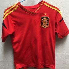 Youth Euro 2012 Spain National Team Soccer Jersey See Measurements