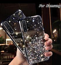 Coque Etui Housse Brillant Transparent Paillette Tous Modèles Samsung Galaxy