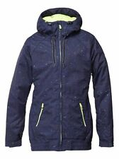 Roxy Valley Hoodie Womens Snowboard Ski Jacket Ladies Winter Snow Coat NEW R£165