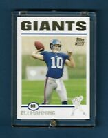 2004 TOPPS ELI MANNING COLLECTION GOLD ROOKIE RC #350 GIANTS - 2X SB MVP - MINT!
