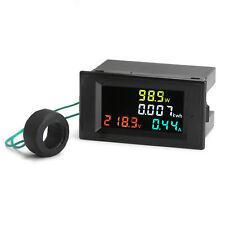 Digital AC Multimeter Voltmeter Ammeter 80-300V 0-100A 3000W Power Energy Meter