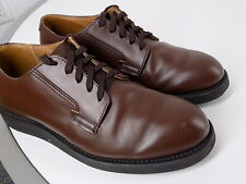 Red Wing 9101 Postman-Oxford shoes, size 7D, chocolate brown, made in USA