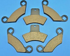 Front Rear Brake Pads for Polaris Xpedition 325 425 2001 2002
